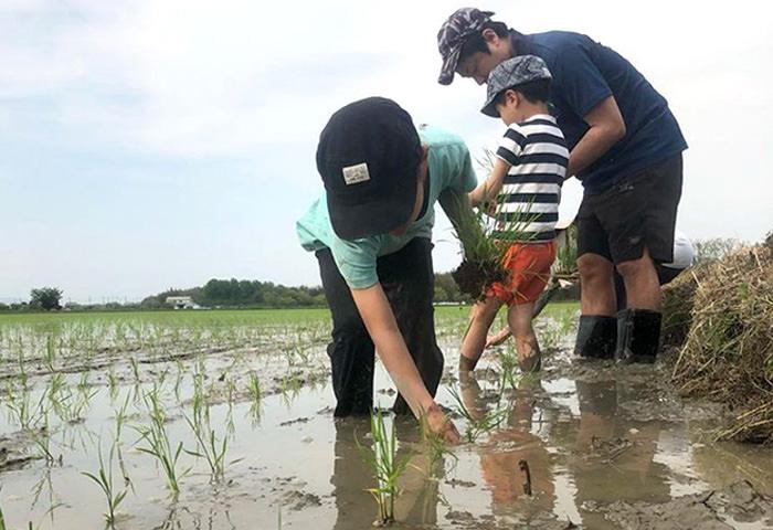 子どもたちの未来を想う農家
