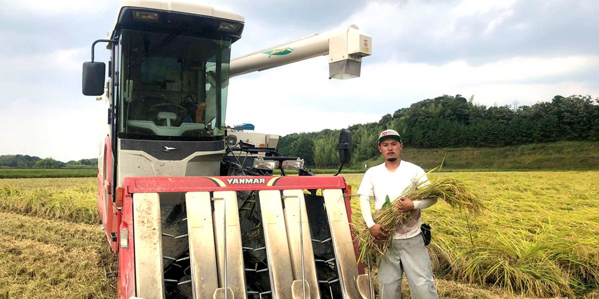 2021年度 新米収穫