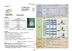 残留農薬 カドミウム セシウム 分析結果表
